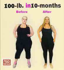 100-lb. in 10-months Weight Loss